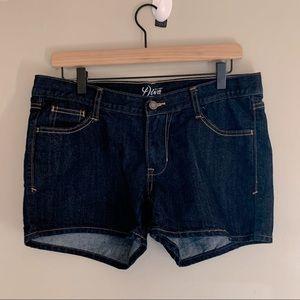 Old Navy Diva jean shorts regular dark denim soft